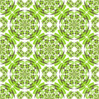 Fresh Geometric Pattern Print by Gaspar Avila