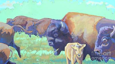 Fresh Grass Original by Stephen Wysocki