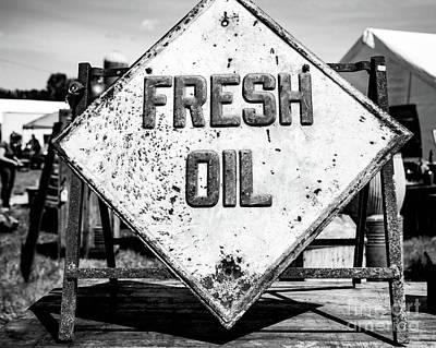 Fresh Oil Print by April Ann Canada