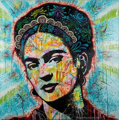 Painting - Frida by Dean Russo