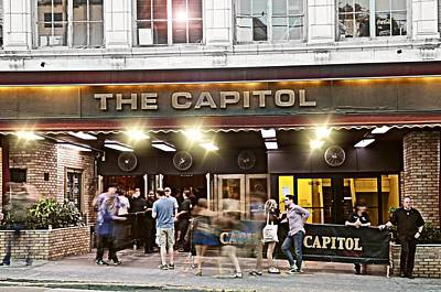 Bowery Photograph - Friday Night At The Cap by Diana Angstadt