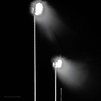 Sports Photograph - Friday Night Lights by Erich Grant