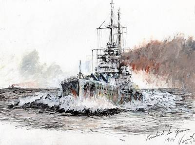 Ww1 Drawing - Friedrich Der Grosse by Vincent Alexander Booth