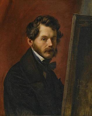 Painting - Friedrich Von Amerling by Carl Christian Vogel von Vogelstein
