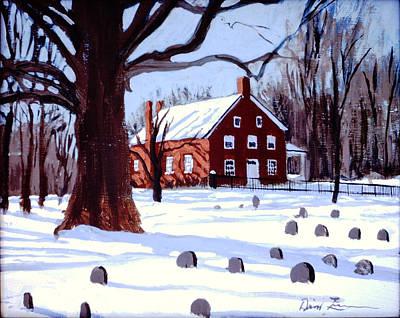Friends House Original by David Zimmerman