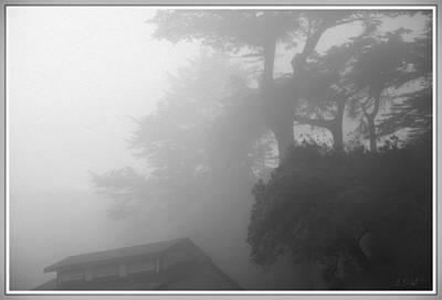 San Francisco Digital Art - Frisco Fog by Bonnie Follett