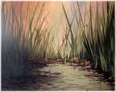 Christian Painting - Frog Town by Kenneth McGarity