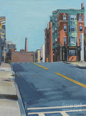 Southie Painting - From A To Broadway by Deb Putnam
