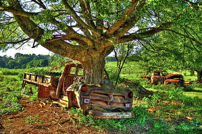 Greensboro Photograph - From Death To Life 1954 Chevrolet Flatbed Truck by Reid Callaway