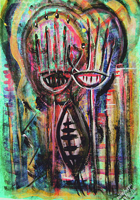 Subconscious Painting - From Deep Within by Mimulux patricia no