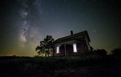 Abandoned Houses Photograph - From Within by Aaron J Groen