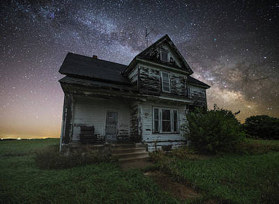 Front Porch  Print by Aaron J Groen