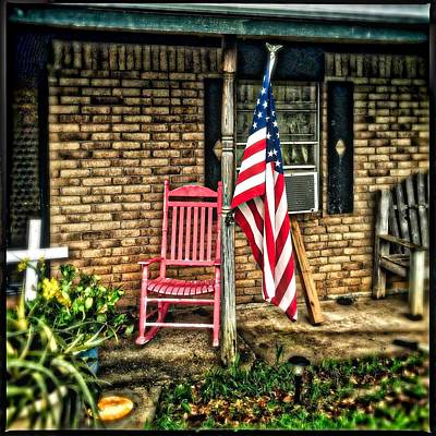 Front Porch Print by Edgar Mosley