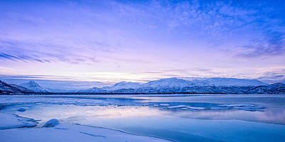 Fjord Photograph - Frozen Kingdom by Tor-Ivar Naess