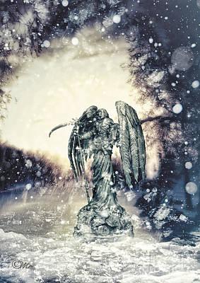 Ice-t Digital Art - Frozen by Mo T