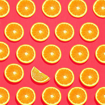 Orange Painting - Fruit 2 by Mark Ashkenazi