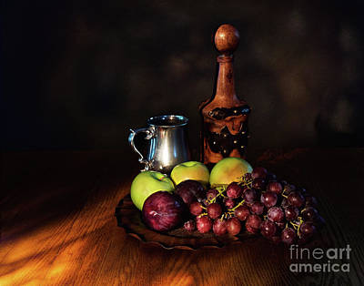Bunch Of Grapes Photograph - Fruit And Spirit by Mark Miller