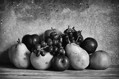 Fruit Collection Print by Andrew Soundarajan