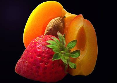 Fruit Display Print by Amanda Vouglas