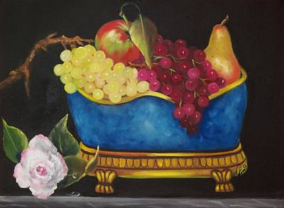 Roses Painting - Fruit Fancy by Joni McPherson