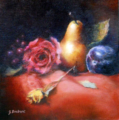 Flower Painting - Fruit Meloday by Jill Brabant