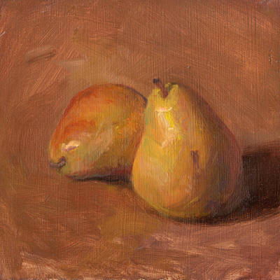 Fruit Of The Spirit- Pear 1 Print by Timothy Chambers