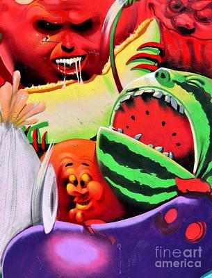 Fruit Salad   ' Urban Art ' Print by Urban Artful
