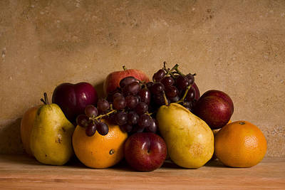 Grapes Photograph - Fruit Still Life by Andrew Soundarajan