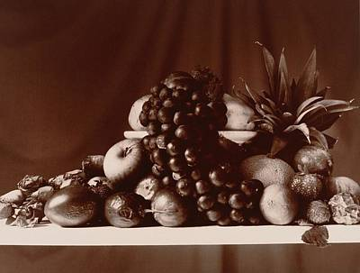 Bunch Of Grapes Photograph - Fruit Still Life by Elspeth Ross