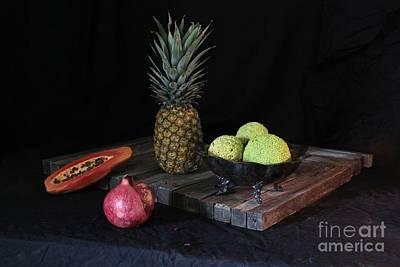 Fruit With Kryptonite Print by Joe Jake Pratt