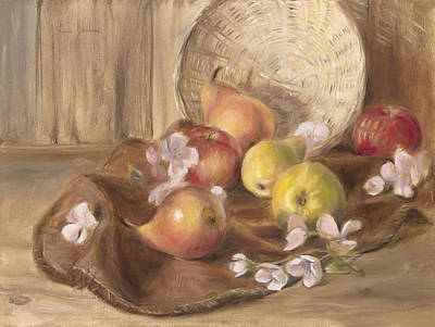 Fruits Print by Lucie Bilodeau