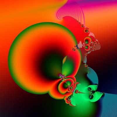 Abstract Digital Art - Fruits Of Labor by Solomon Barroa