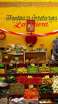 Skiphunt Photograph - Frutas Y Verduras by Skip Hunt