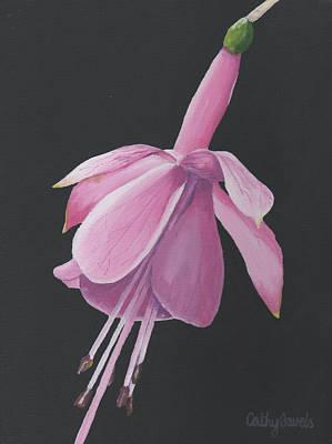 Fuchsia Original by Cathy Savels