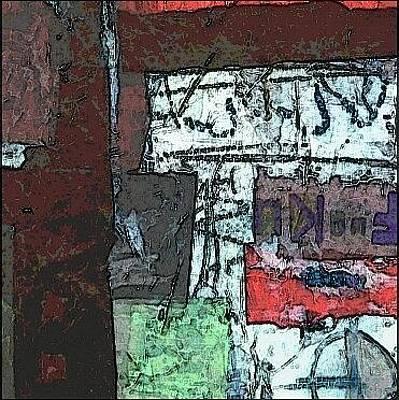 Textured Mixed Media - Fuck U by KA Davis
