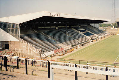 Fulham - Craven Cottage - Riverside Stand 3 - September 1991 Print by Legendary Football Grounds