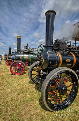 Rally Photograph - Full Head Of Steam by Stephen Smith
