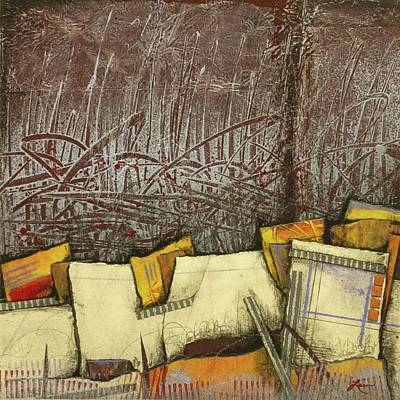 Paper Mixed Media - Full Of Excitement  by Laura Lein-Svencner