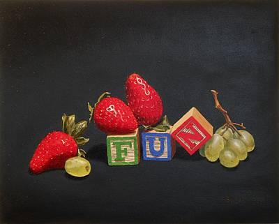Manikins Painting - FUN by Tom Swearingen