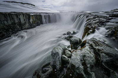 Stream Photograph - Fury Of Water by Pierre Destribats