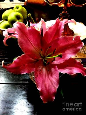 Fushia Photograph - Fushia Beauty by Deborah MacQuarrie-Haig
