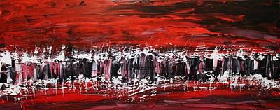 Pentagram Art Painting - Fusion by Embrace the Matrix