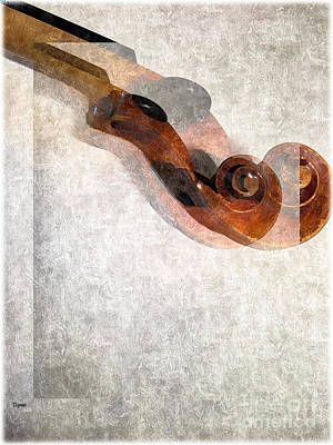 Violin Digital Art - Fusion  by Steven Digman