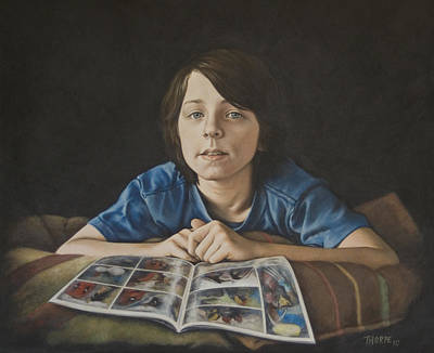 Painting - Gabe by Tim Thorpe