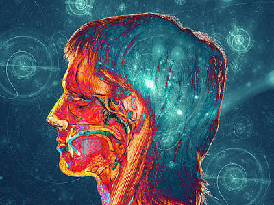 Galactic Mind Print by Bear Welch