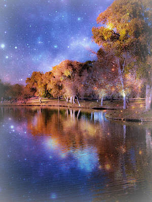 Transcend Photograph - Galaxy by Lisa S Baker