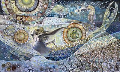 Galaxy Of Love Original by Manami Lingerfelt