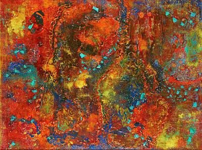 Galaxy Print by Tabasom  Noorbakhsh