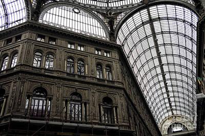 Umberto Photograph - Galleria Umberto Design by John Rizzuto