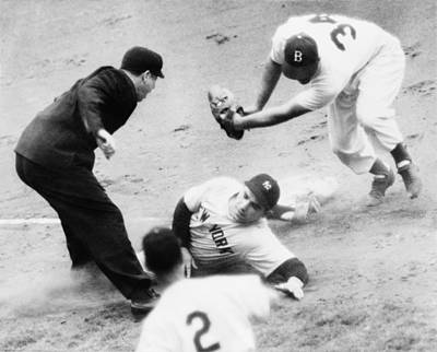 Photograph - Game Four Of The 1949 World Series by Everett